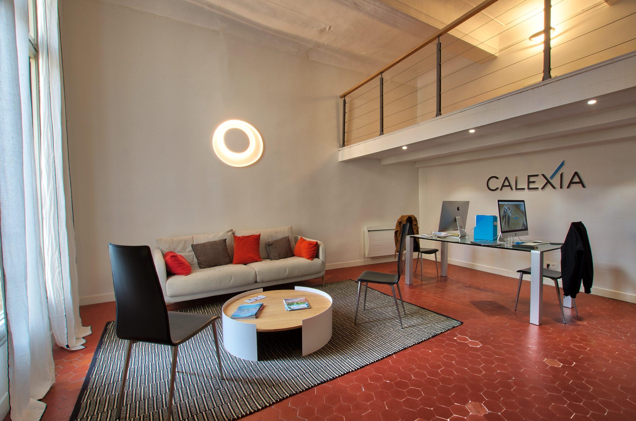 bureau Calexia - Agence immobilière Aix-en-Provence